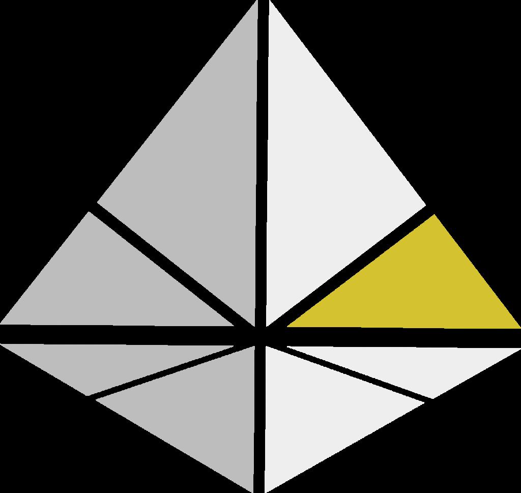 Logo Grau Gold nur Kristall
